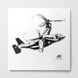 V-22 Osprey Metal Print