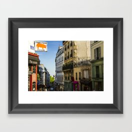 Montmartre series 7 Framed Art Print