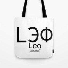 Leo - Лев, Horoscop Zodiac Sign Tote Bag