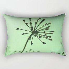 firing neurons Rectangular Pillow