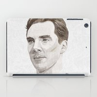 benedict cumberbatch iPad Cases featuring Benedict Cumberbatch by Zaneta Antosik