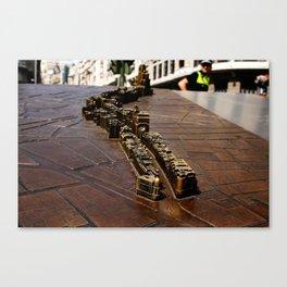 """""""Pequeña Gran Vía"""" Canvas Print"""