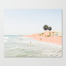 Pink Beach #society6 #decor #buyart Canvas Print