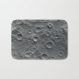 Moon Surface Bath Mat