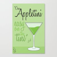 scrubs Canvas Prints featuring Tv drink quotes [ SCRUBS ] by Fabio Castro