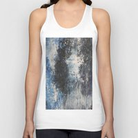 the strokes Tank Tops featuring Strokes by Hasan Nisar Basra