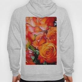 Orange Roses Hoody