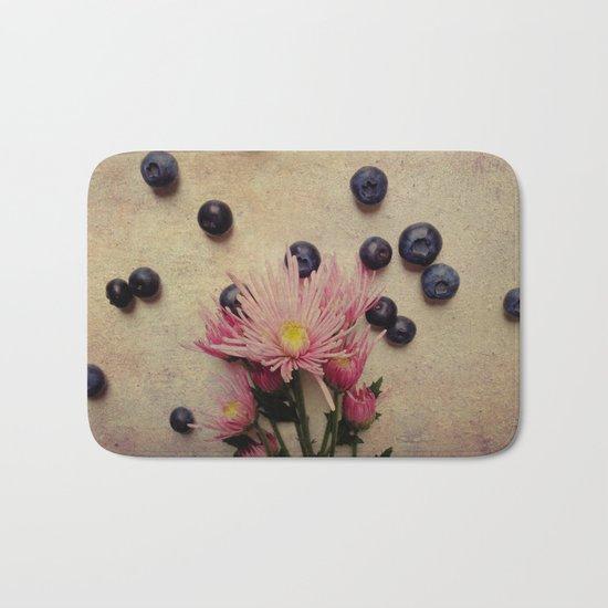 Blooms and Berries Bath Mat