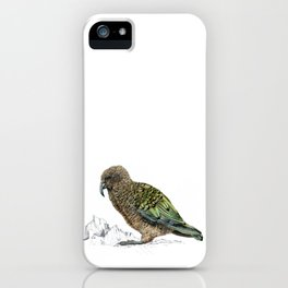 Mr Kea, New Zealand parrot iPhone Case
