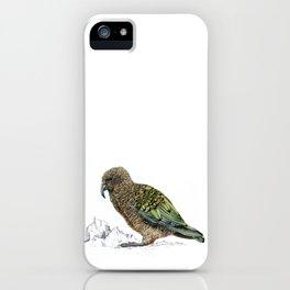 Mr Kea, New Zealand parrot iPhone Case