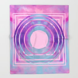 Abstract Transmission Throw Blanket