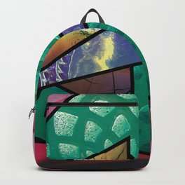 Angles of Nature ~ Design 02 Glass Backpack