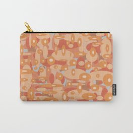 abstract brown oval background Carry-All Pouch