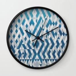 Tile Pattern Wall Clock