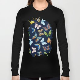 Butterfly Pattern 03 Long Sleeve T-shirt