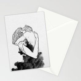 Till the last star you have me. Stationery Cards