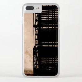 trestle bridge Clear iPhone Case