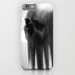 Unfinished skull Jill likes as is iPhone Case