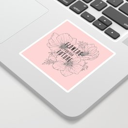 Flowers for our Future - Anemone Bouquet Sticker