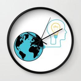 Mind Getting Ideas From World Wall Clock