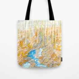 Eno River #28 Tote Bag