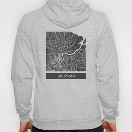 Brisbane Map Hoody