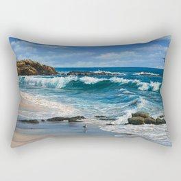 Laguna Beach Summer Rectangular Pillow