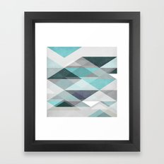 Nordic Combination 1 X Framed Art Print