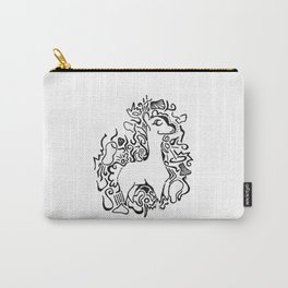 Wooly Lineart Carry-All Pouch