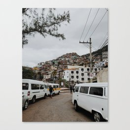 Streets of Brazil Canvas Print