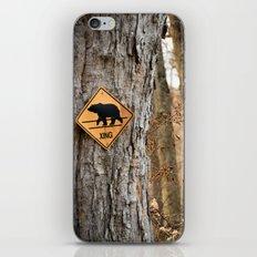 Bear Crossing iPhone & iPod Skin
