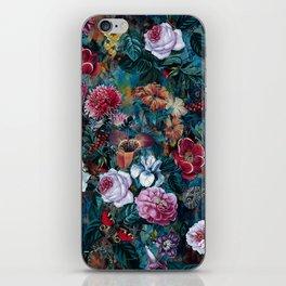 Dance of flowers iPhone Skin