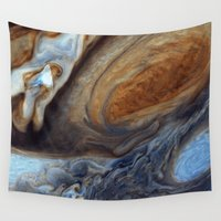 nasa Wall Tapestries featuring liver-spotted king (nasa #02) by _mackinac