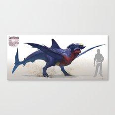 Pokemon-Garchomp Canvas Print