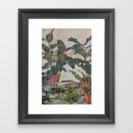 Plantlife - Safari Framed Art Print