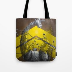 Giraffe up! Tote Bag