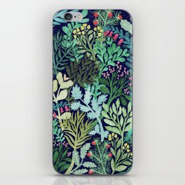 Botanical Glow iPhone Skin