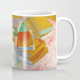 Vincent van Gogh - Piles of French Novels - Digital Remastered Edition Coffee Mug