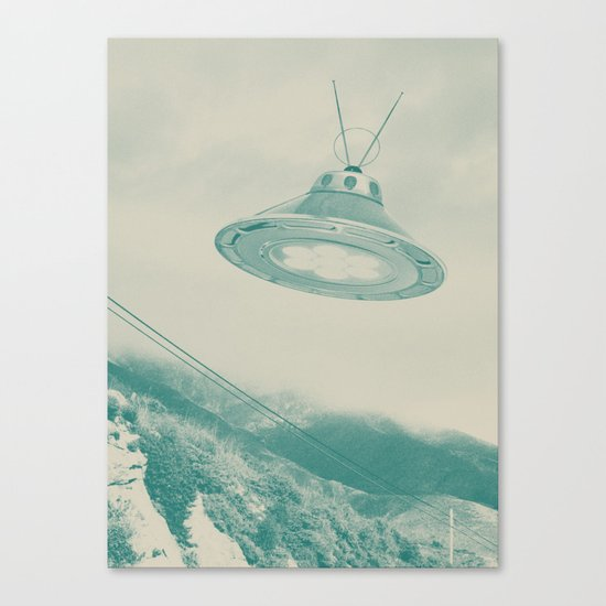UFO II Canvas Print