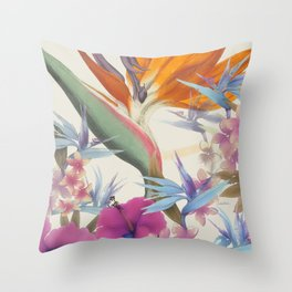 Fields of Paradise Throw Pillow