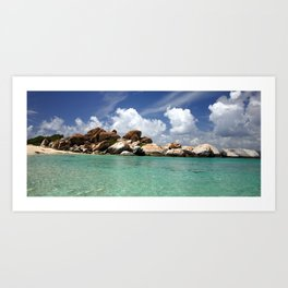 The virgin gorda.  Art Print
