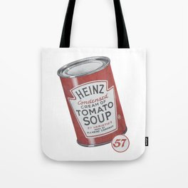 Heinz tomato soup can Tote Bag