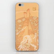 Flower Bath 10 (censored version) iPhone & iPod Skin