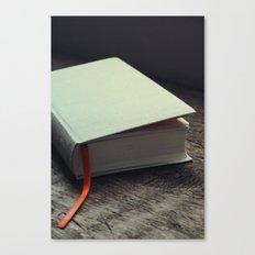 Bookish (A Diary) Canvas Print