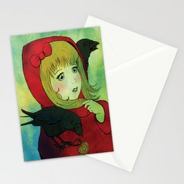 Red & Crows Stationery Cards