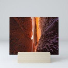 Slot Canyon Lighting Mini Art Print