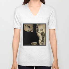Angel mine Unisex V-Neck