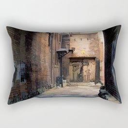 Artistry - Graffiti Wall Rectangular Pillow