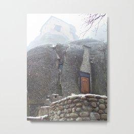 Meteora in Northern Greece Metal Print