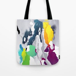 Who squashed the skyline Tote Bag